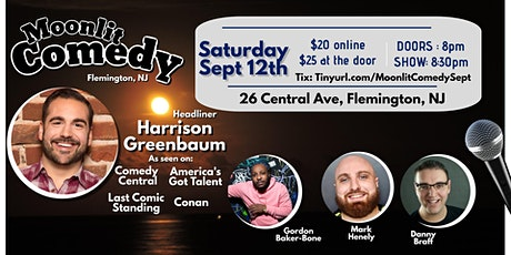 Moonlit Comedy with Harrison Greenbaum! tickets
