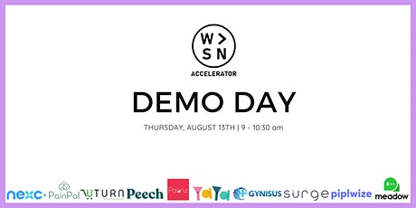 WOSN Accelerator Demo Day tickets