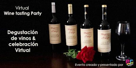 """Virtual Wine Tasting & presentación del vino """"Mujeres a Prueba de Fuego"""" entradas"""