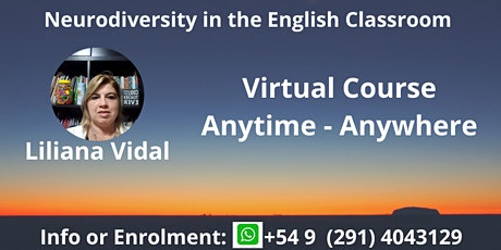 "Virtual Course ""Neurodiversity in the English Classroom"" tickets"
