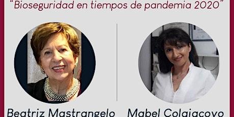 """MASTERCLASS - """"BIOSEGURIDAD EN TIEMPOS DE PANDEMIA"""" - COSMETOLOGÍA A.A.D entradas"""