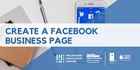 Create a Facebook Business Page - Bundoora tickets