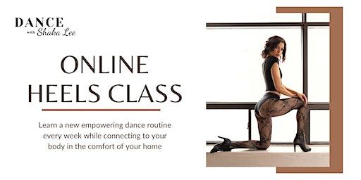 Live Online Heels Class
