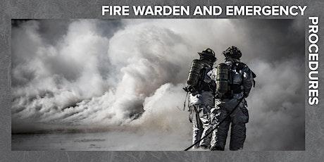 Fire Warden & Emergency Procedures tickets