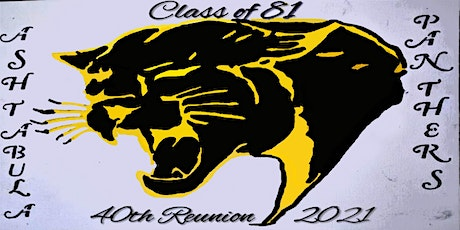 1981 Ashtabula High School Class Reunion tickets