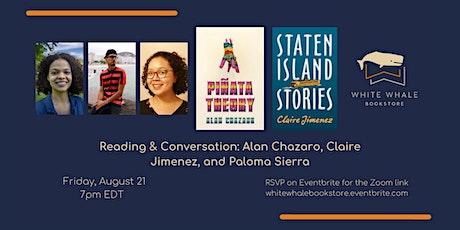 Reading & Conversation: Alan Chazaro, Claire Jimenez, Paloma Sierra tickets