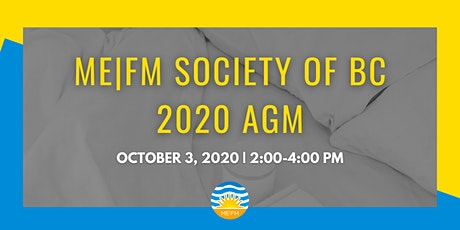 ME|FM Society of BC - 2020 AGM tickets