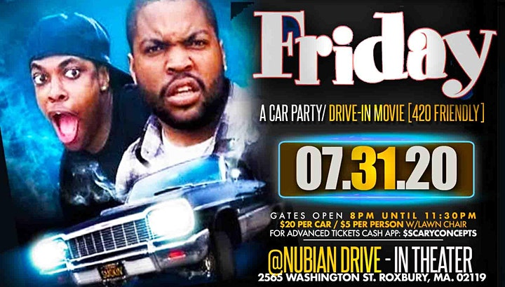 """""""FRIDAY"""" A Car Party/Drive-In Movie image"""