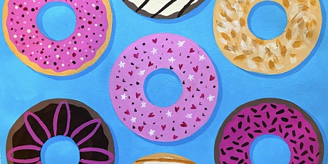 Kids Paint-Along Class: Yummy Donuts tickets