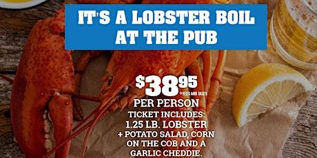Fionn MacCool's Guelph Lobster Boil tickets