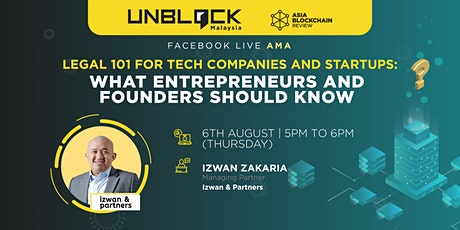 Legal 101 For Tech Companies And Startups: What Entrepreneurs Should Know tickets