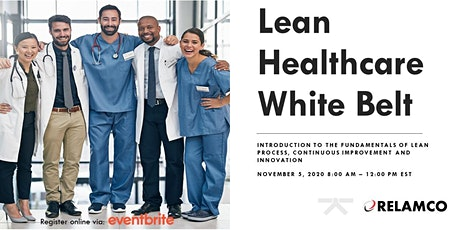 Lean Healthcare White Belt tickets