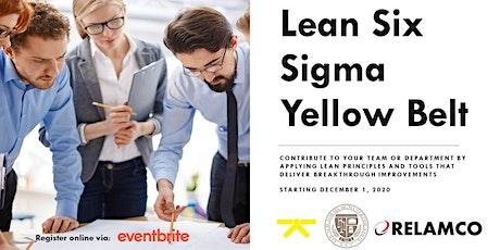 Lean Six Sigma Yellow Belt tickets