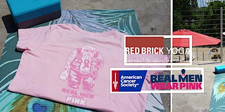 Outdoor Yoga - Real Men Wear Pink Fundraiser tickets