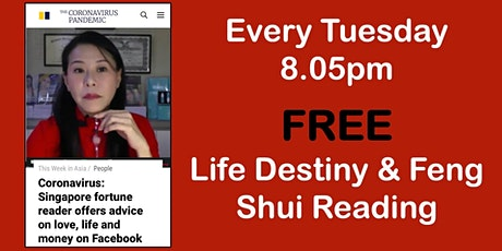 FREE Feng Shui & Life Destiny Reading tickets