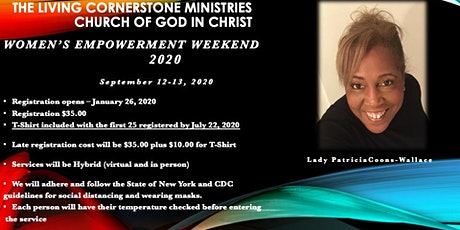 TLCM 7th Annual Women's Empowerment Weekend tickets