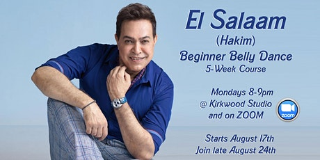 Beginner Belly Dance to song El Salam tickets