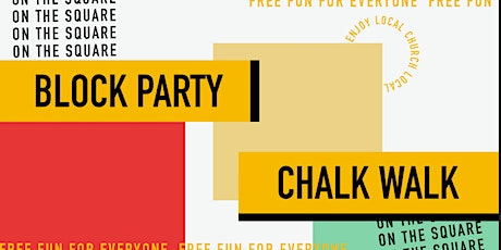 Chalk Walk on the Square tickets