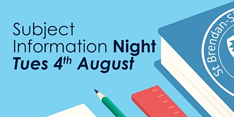 St Brendan-Shaw College Subject Information Night tickets