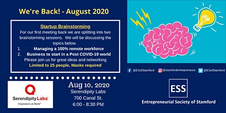 Brainstorming with Entrepreneurs presented by ESS tickets