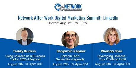 Network After Work Digital Marketing Summit: LinkedIn tickets