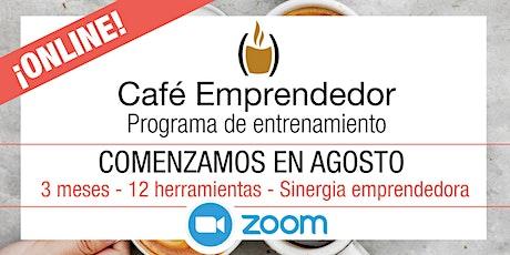 Café Emprendedor. Herramientas para emprender mejor. MIÉRCOLES- 3 meses entradas