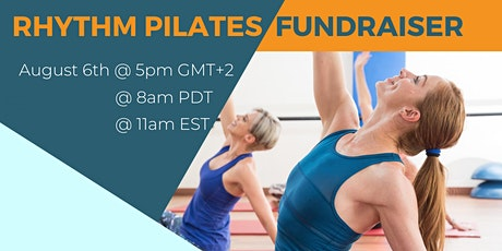 Rhythm Pilates Fundraiser tickets