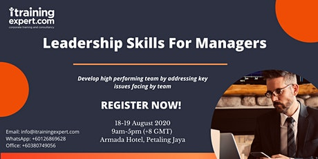 Leadership Skills for Managers Tickets