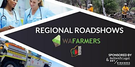 WAFarmers and Bushfire Volunteers WA Roadshow 2020 - Merredin tickets