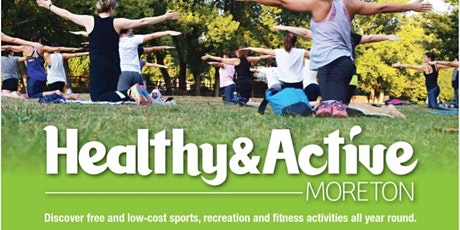 Healthy and Active Moreton - Yoga in the Park  Mango Hill tickets