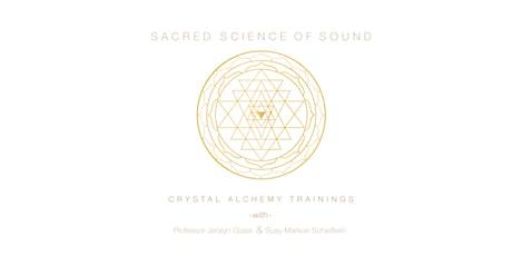 VIRTUAL Intro to Crystal Alchemy Sound Healing Workshop tickets