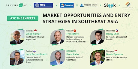 Market Opportunities and Entry Strategies in Southeast Asia tickets