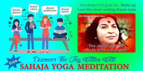 Special Meditation Program For Youth To Overcome Stress and Worries tickets