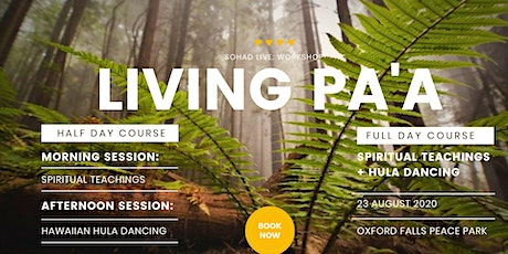 LIVING PA'A - FULL DAY PROGRAM tickets