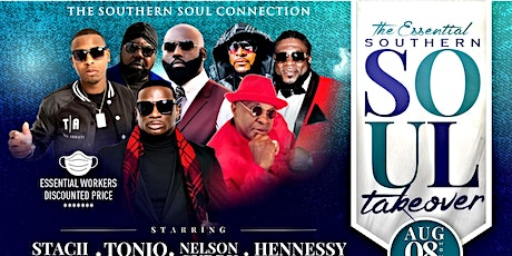 THE ESSENTIAL SOUTHERN SOUL TAKEOVER tickets