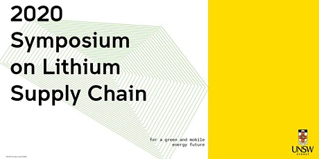 2020 Symposium on Lithium Supply Chain for a Green and Mobile Energy Future tickets