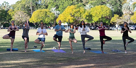 Free Yoga Class! New Farm Park tickets
