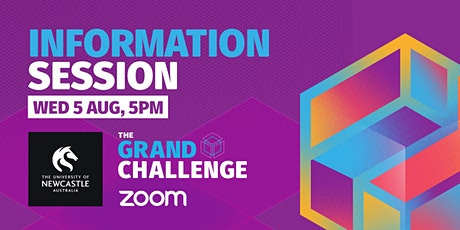Grand Challenge: Information Session tickets