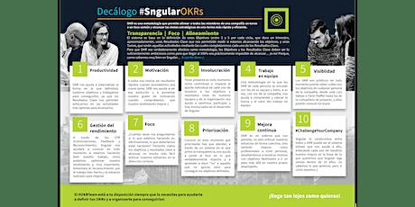 Curso de OKR Champion - Certificado por Sngular - 10ª Convocatoria tickets