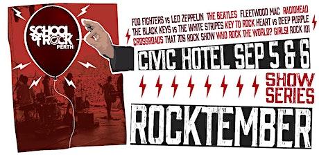 Rocktember Show Series tickets