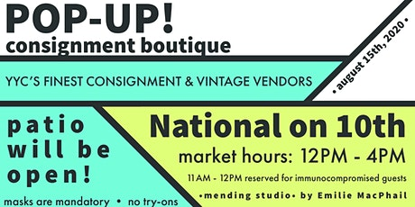 Pop-Up Consignment Boutique tickets