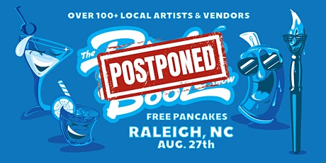 The Raleigh Pancakes & Booze Art Show tickets
