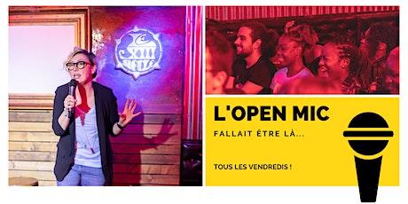 L 'Open Mic de Lausanne  - 7 août billets