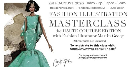 Fashion Illustration MasterClass tickets