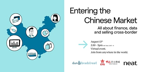 Virtual Event: Entering the Chinese Market tickets