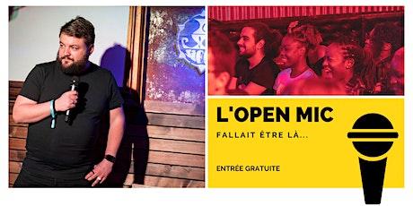 L 'Open Mic de Lausanne  - 21 août tickets