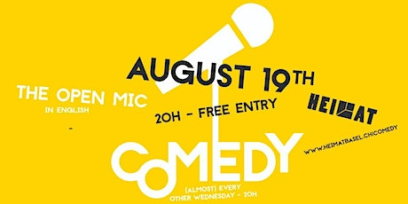 The Open Mic - 19th August - Basel Tickets