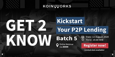 Get2Know: Kickstart Your P2P Lending | Batch 5