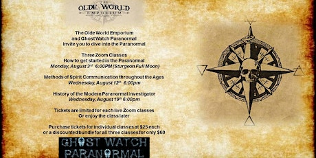 Methods of Spirit Communication throughout the Ages tickets
