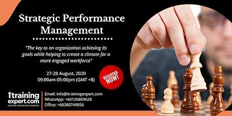 Strategic Performance Management tickets